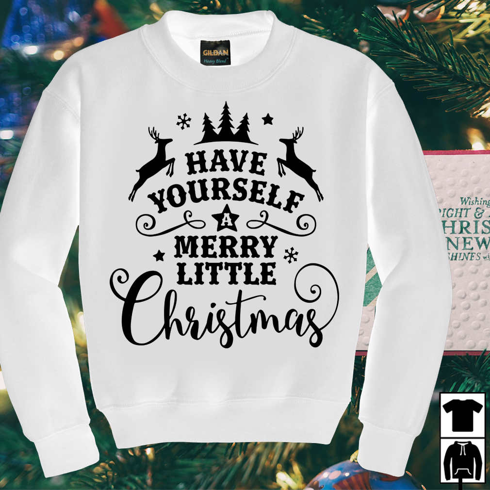 Have yourself a merry little Christmas sweater