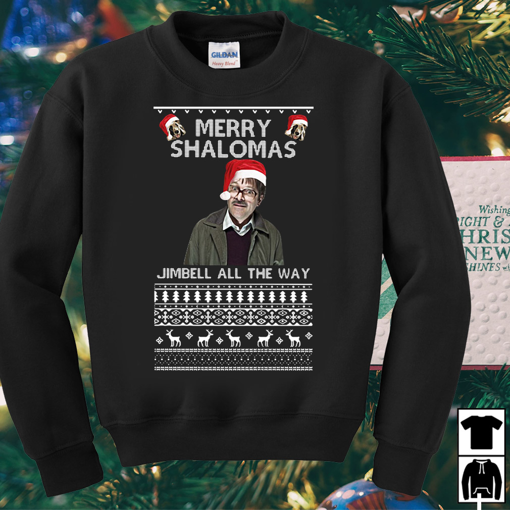 Merry Shalomas Jimbell all the way sweater