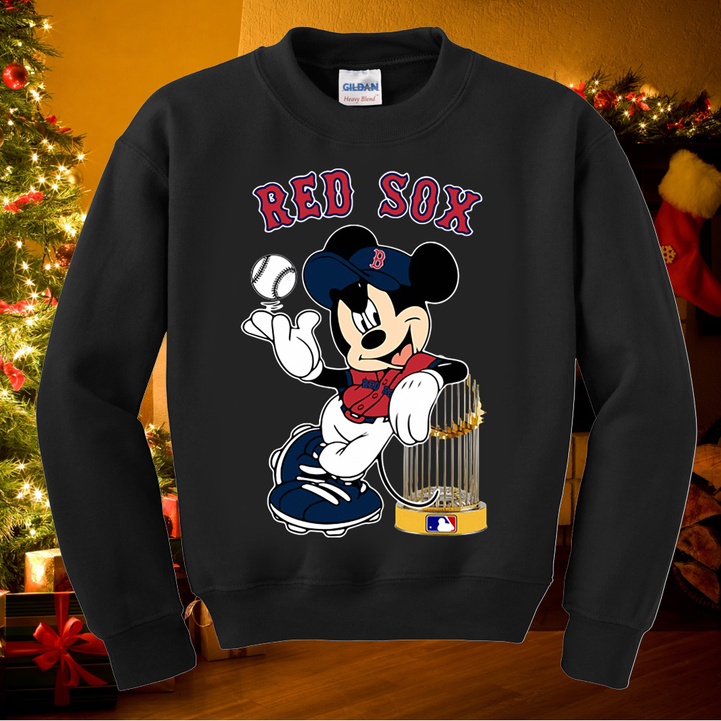 Mickey Boston Red Sox Taking The Trophy MLB 2018 shirt