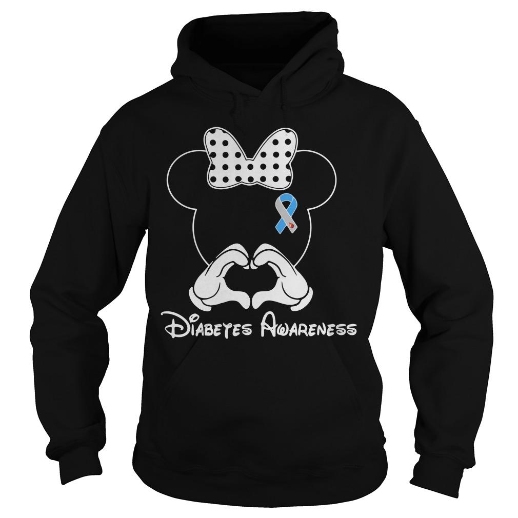 Mickey Diabetes Awareness Hoodie