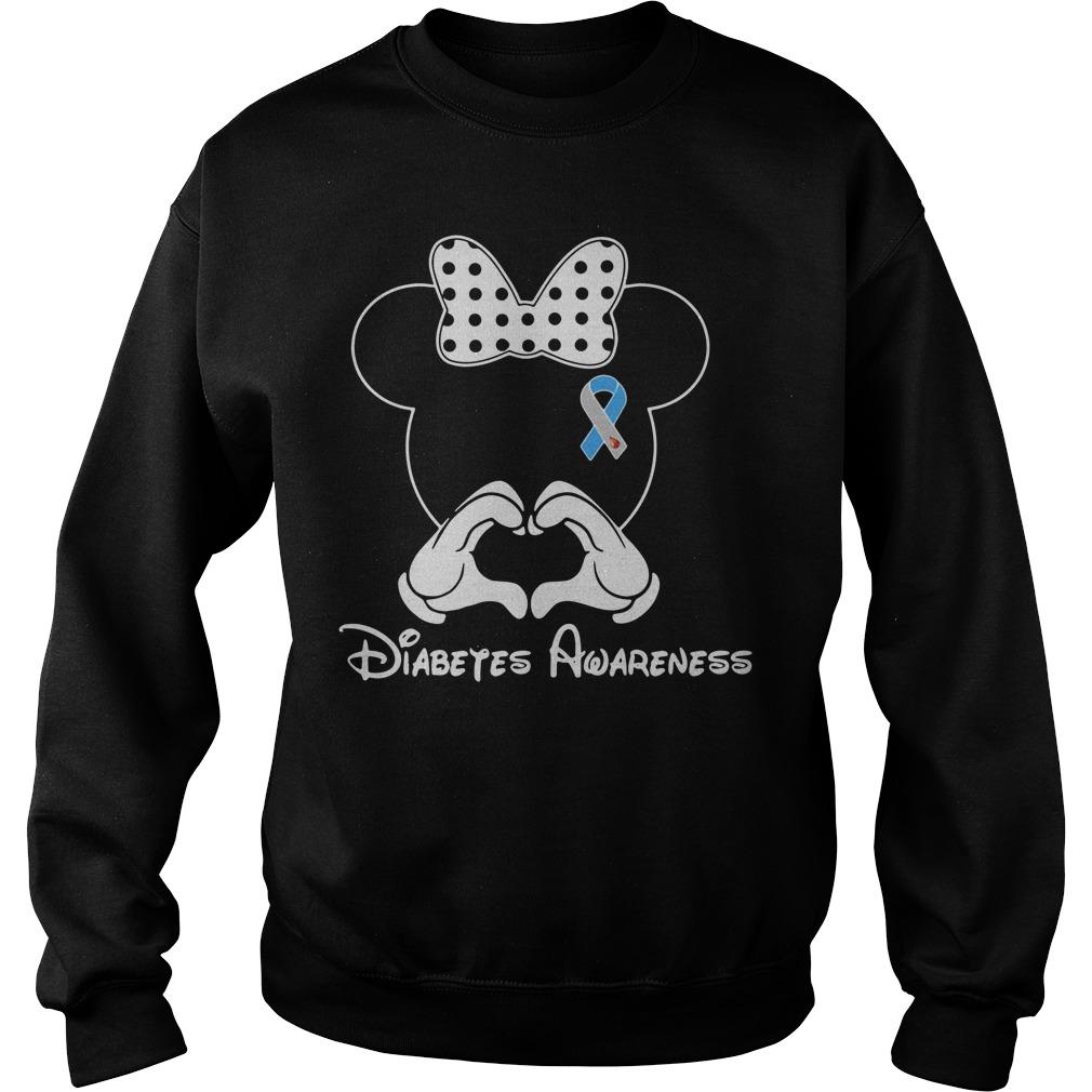 Mickey Diabetes Awareness Sweater