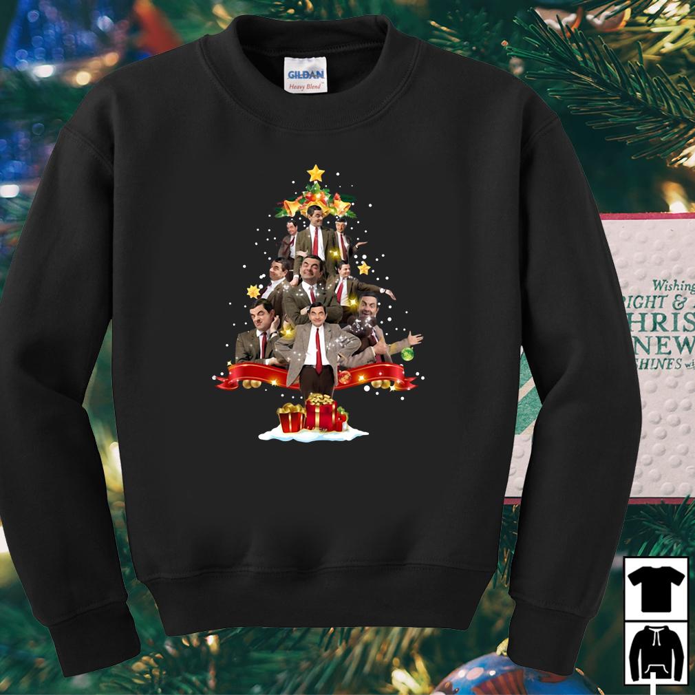 Mr Bean Christmas Tree sweater, shirt, hoodie and longsleeve tee