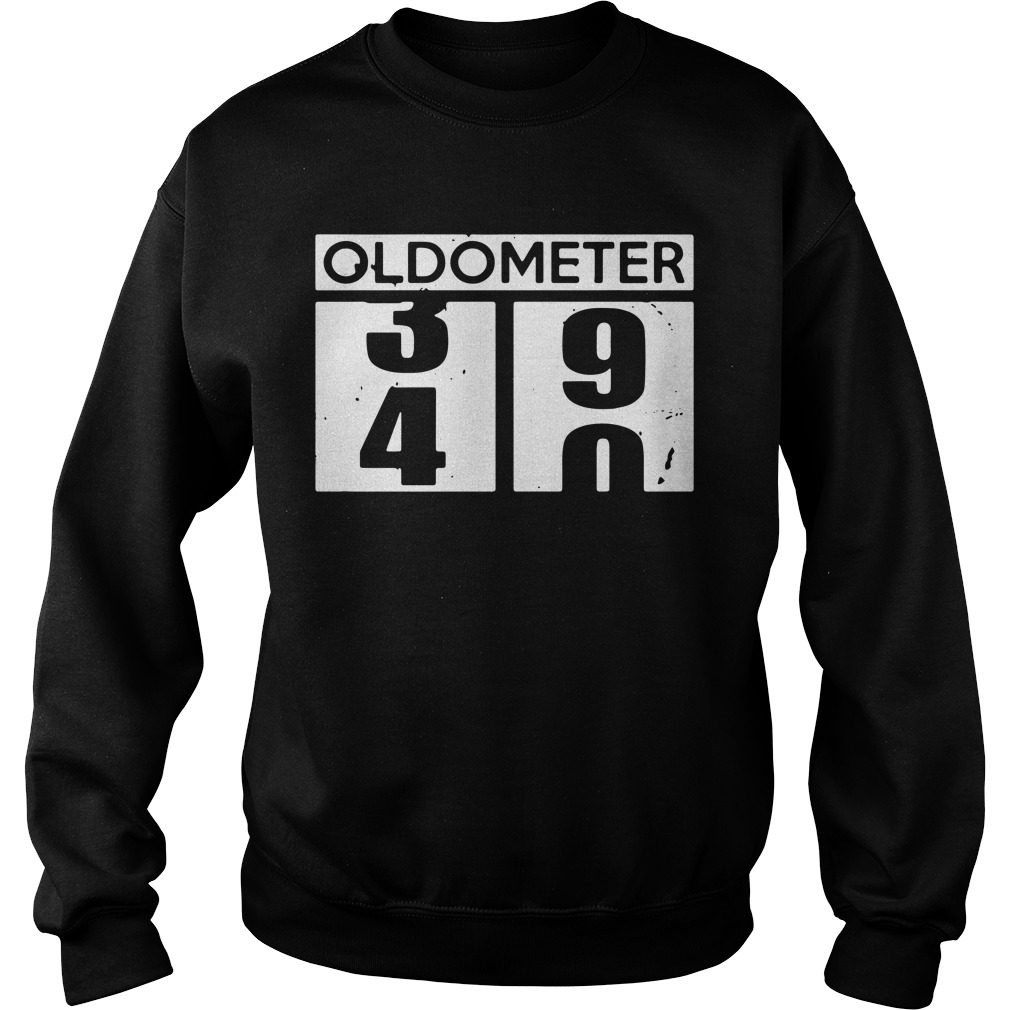 Oldometer 39 40 funny birthday Sweater