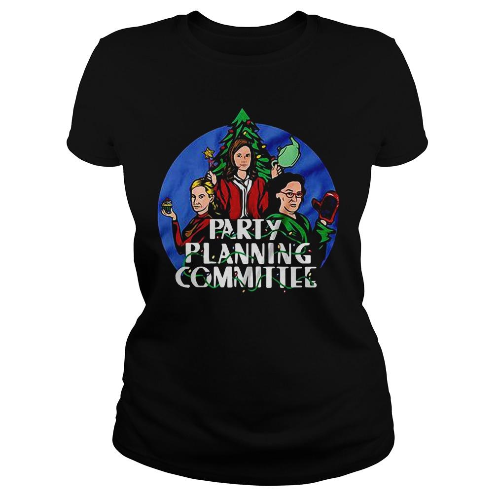 Party Planning Committee Ladies tee