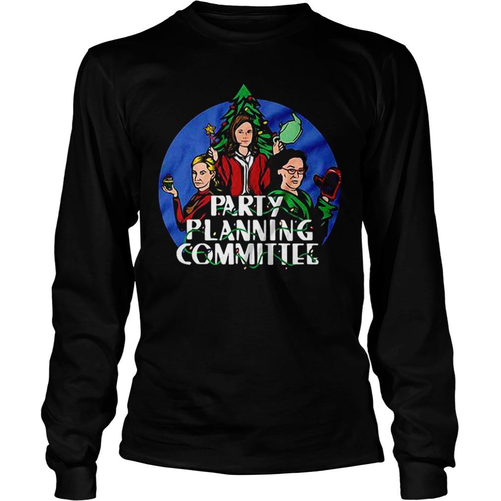 Party Planning Committee Longsleeve tee