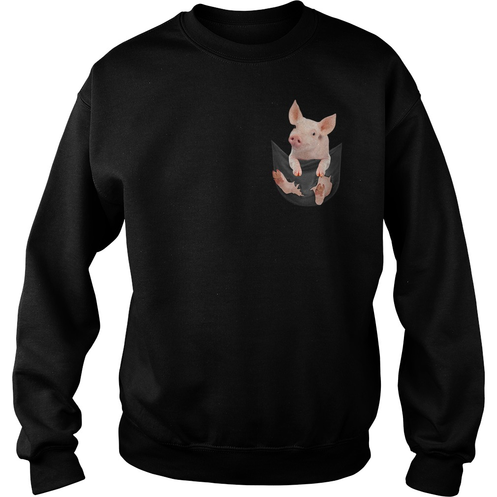 Pig in a pocket Sweater