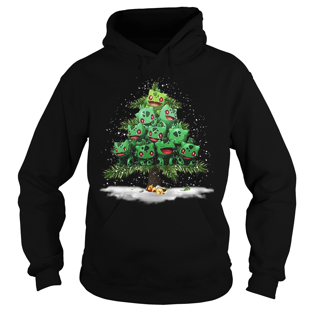 Pokemon Fushigidane Christmas tree Hoodie