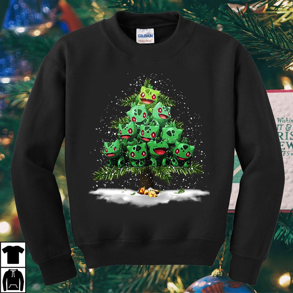Pokemon Fushigidane Christmas tree sweater