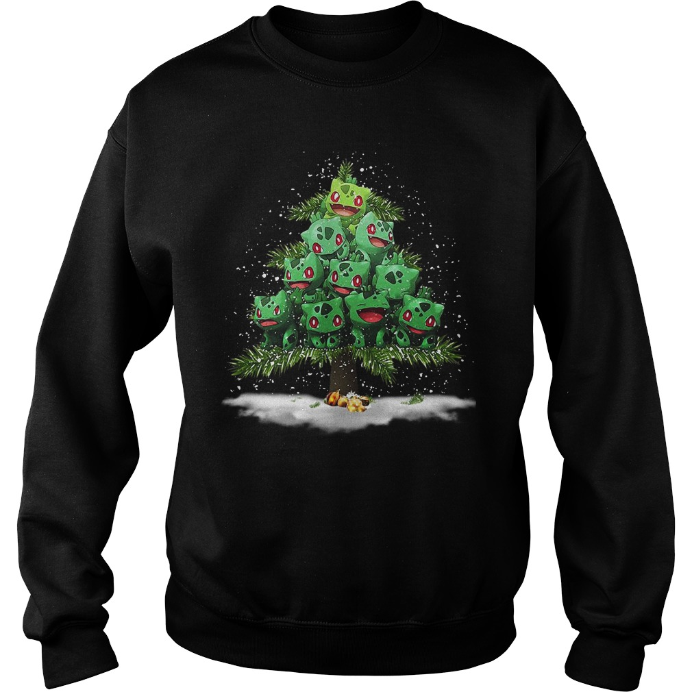 Pokemon Fushigidane Christmas tree Sweater