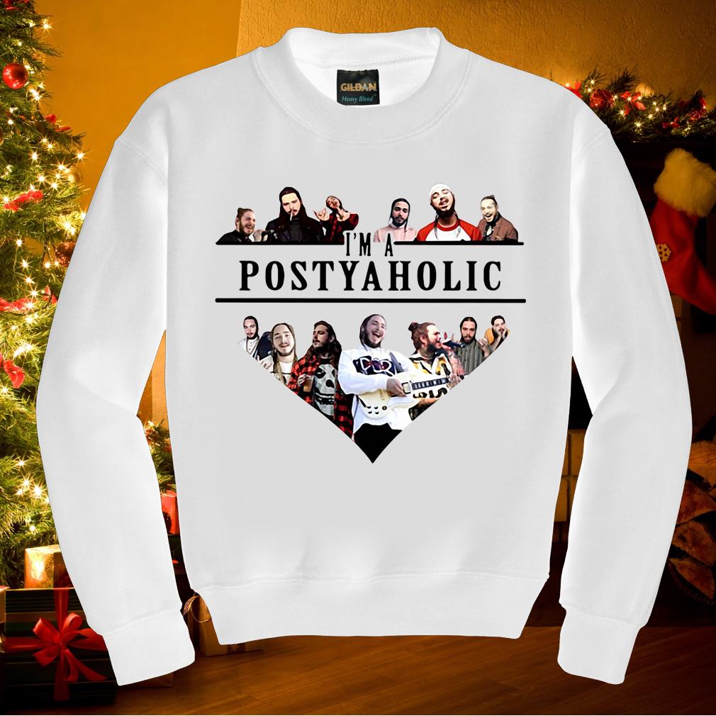 Post Malone I'm a Postyaholic shirt