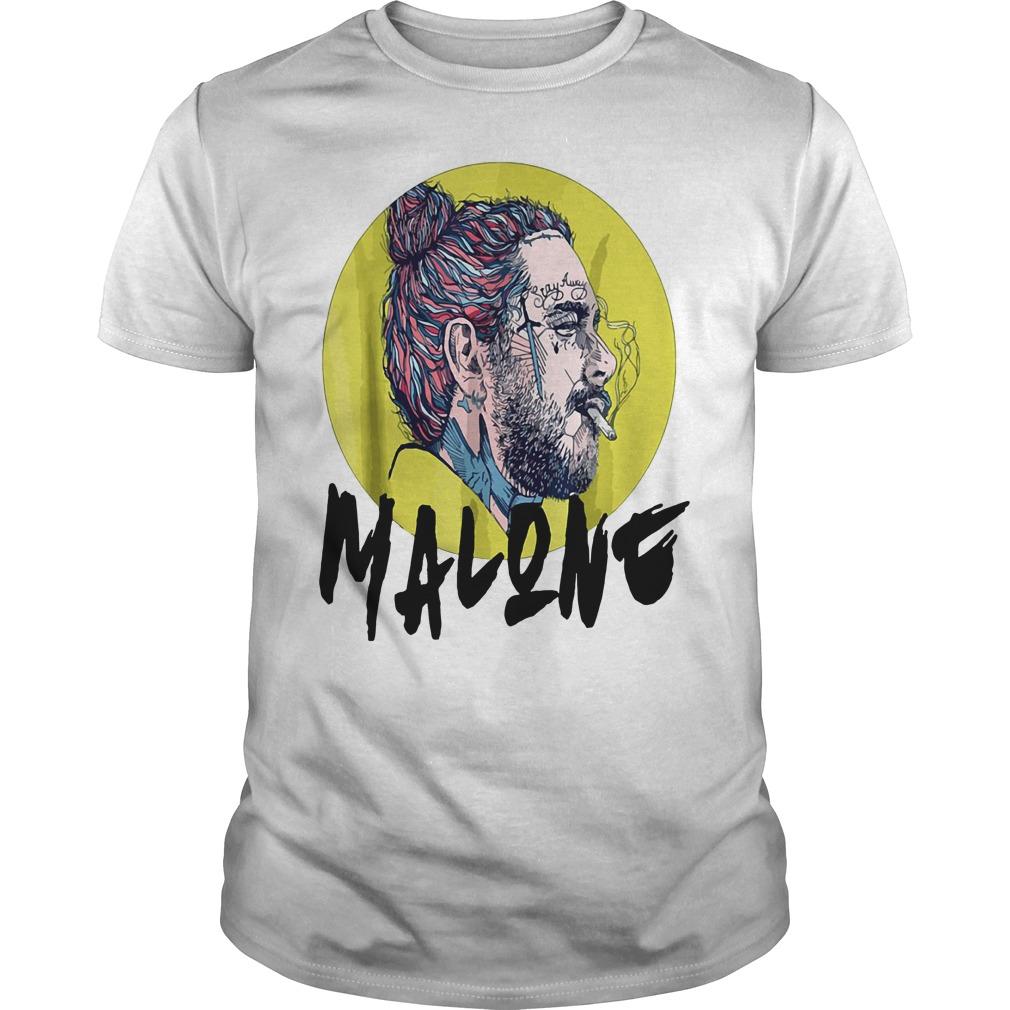 Post Malone stay away smoking Guys Shirt