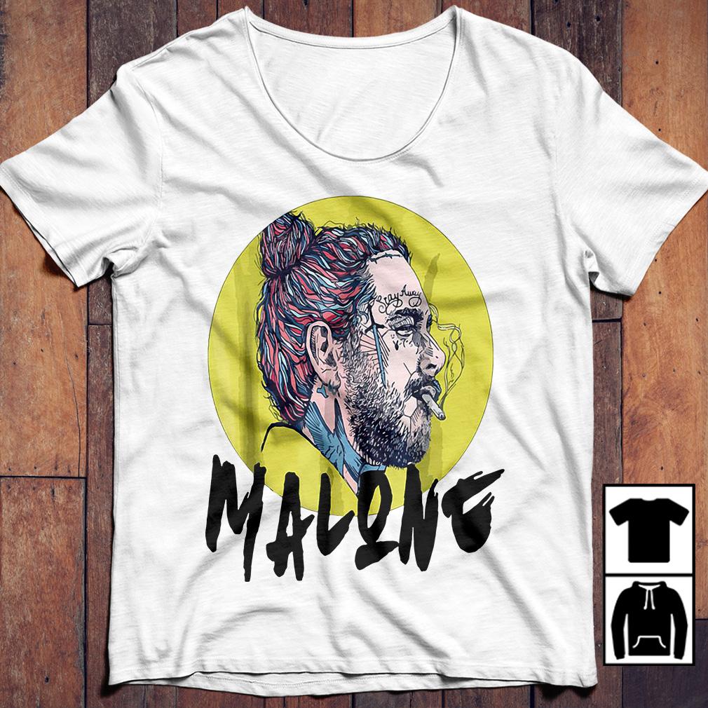 Post Malone stay away smoking shirt