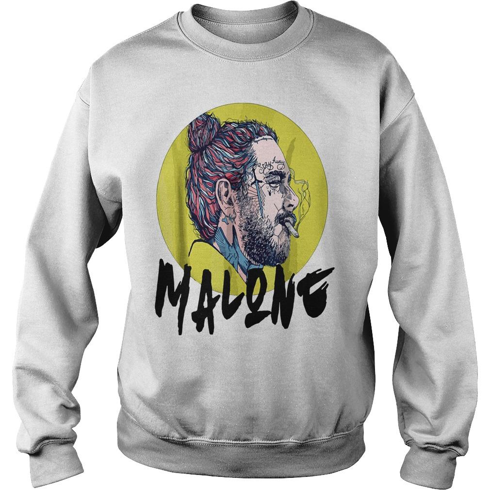 Post Malone stay away smoking Sweater