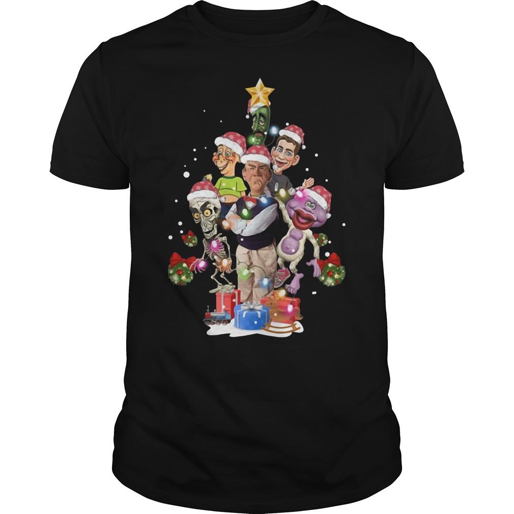 Puppets of Jeff Dunham Christmas tree Guys Shirt