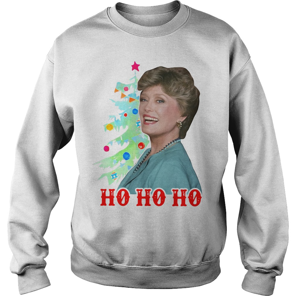 Official Blanche Devereaux Ho Ho Ho Christmas Sweater