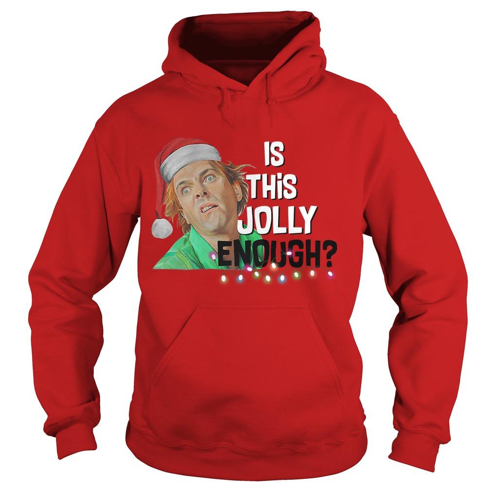Santa ELF is this Jolly enough Hoodie