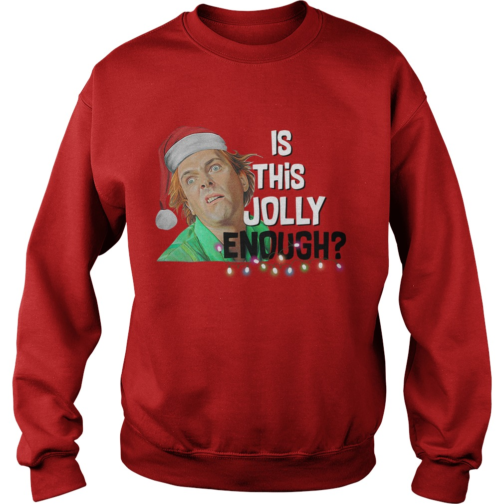 Santa ELF is this Jolly enough Sweater