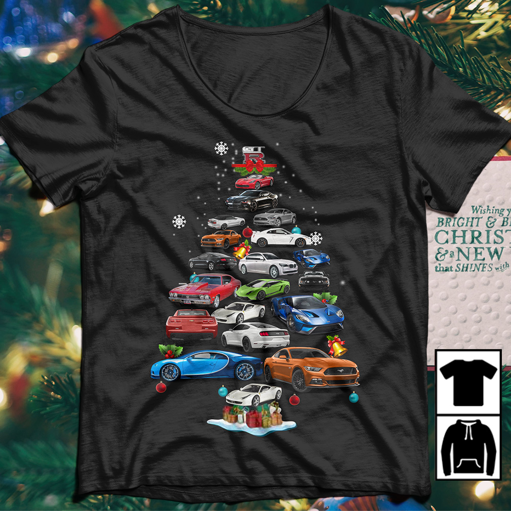 Skyline/GTR Christmas Tree sweater