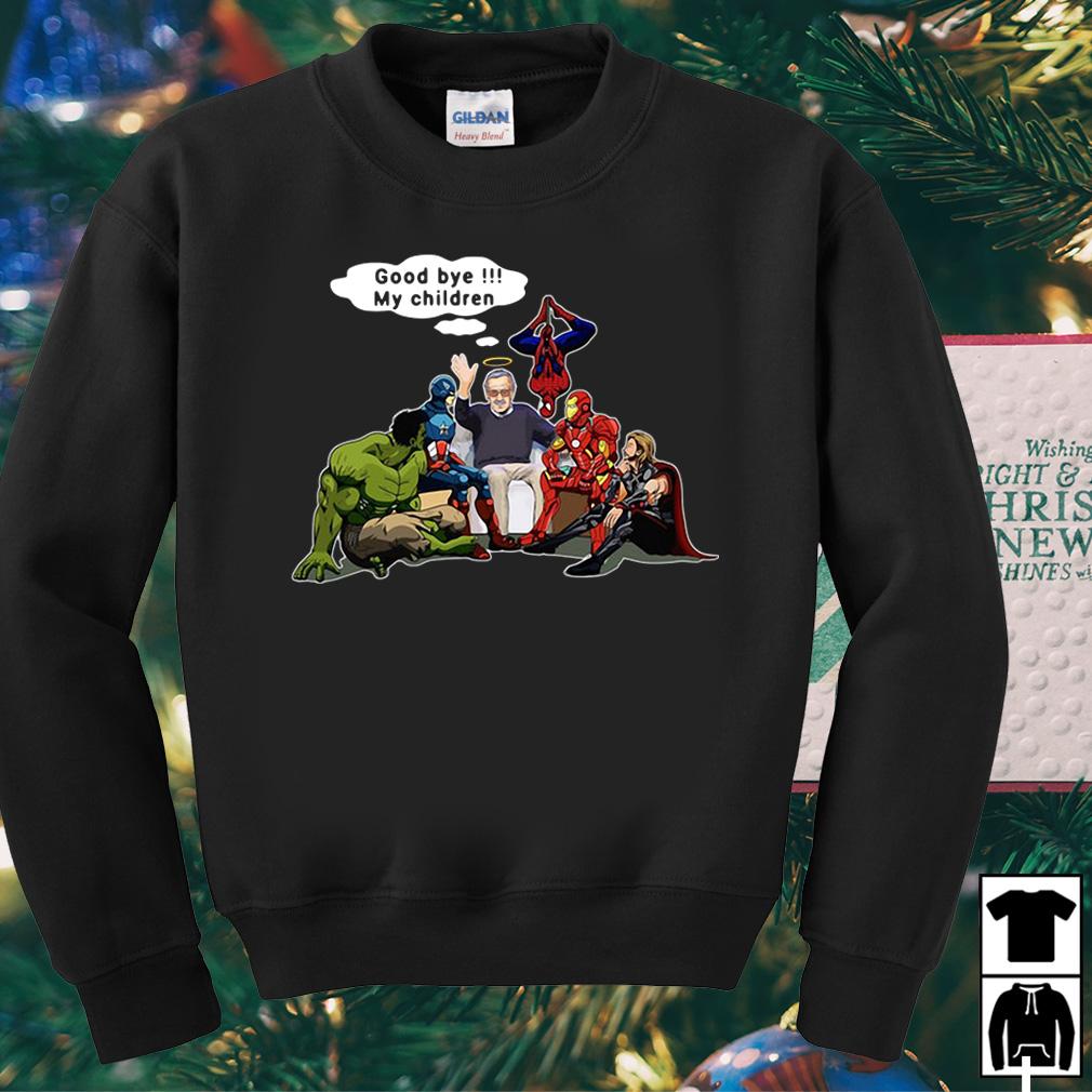 Stan Lee Goodbye My children Marvel Avengers shirt