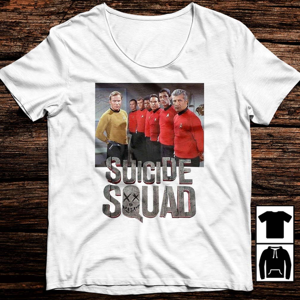 Star Trek suicide squad shirt
