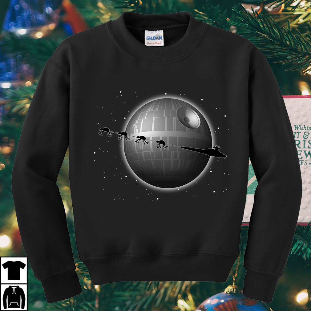 Star Wars Battlefront Star Destroyer and Death Star shirt
