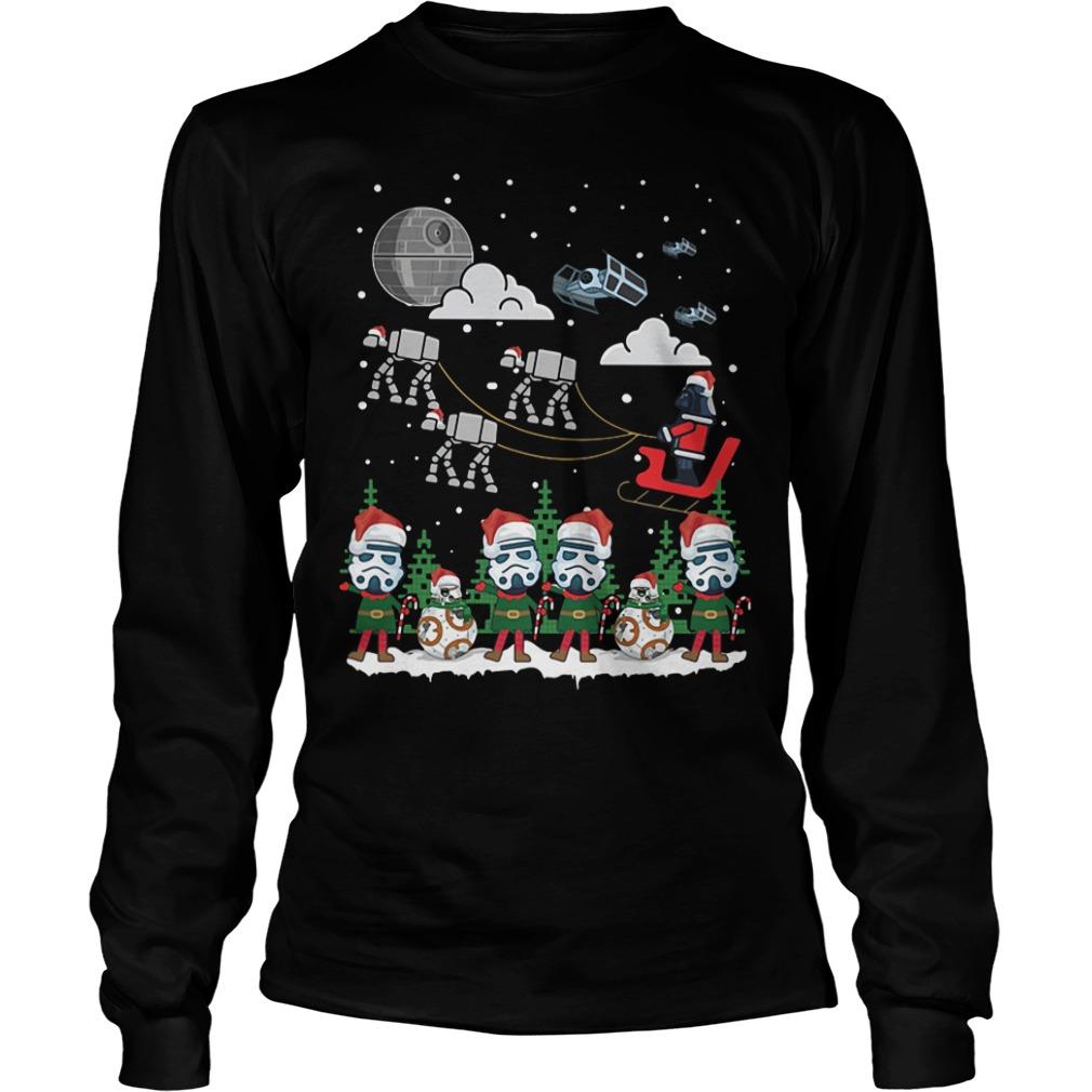 Star Wars Ugly coming Christmas Longsleeve tee