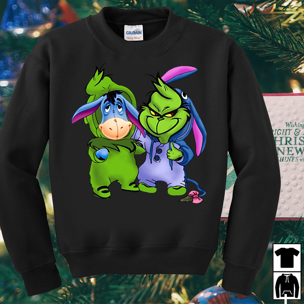 Stitch and Grinch best friends forever shirt