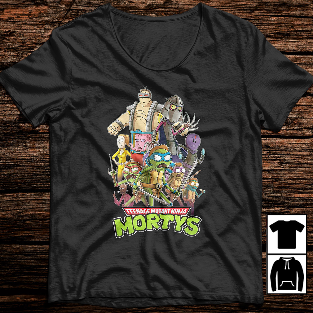 Teenage Mutant Ninja Mortys shirt