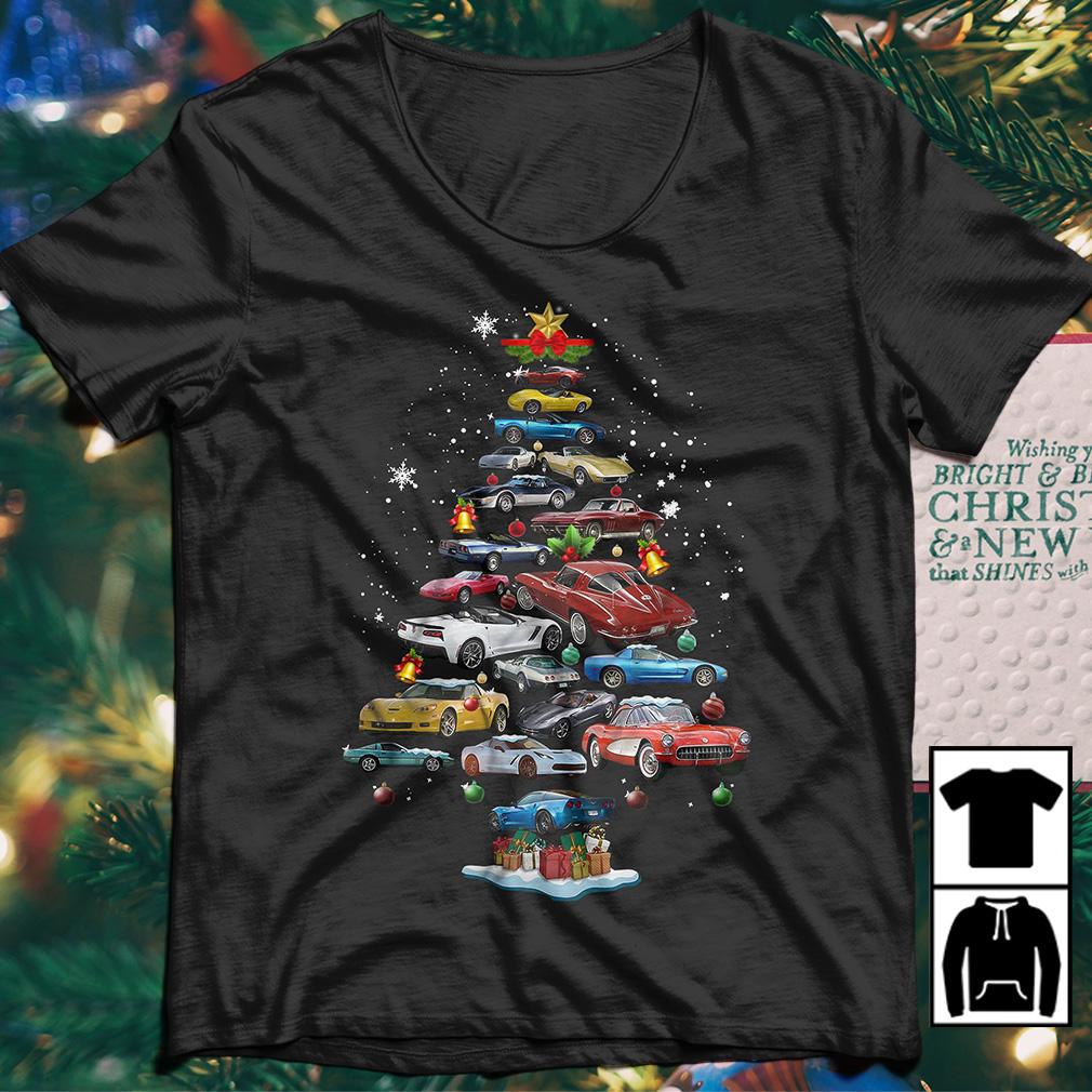 Vette Christmas Tree sweater