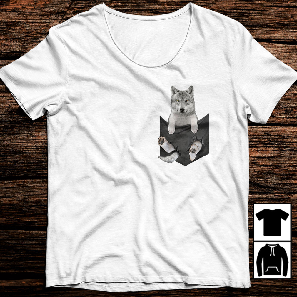 Wolf in a Pocket shirt