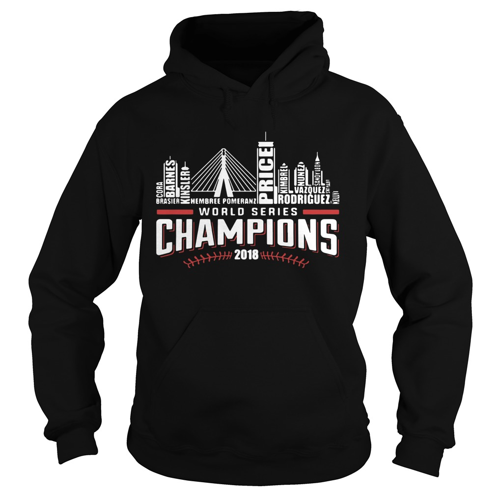 World series champions 2018 Boston Red Sox Hoodie