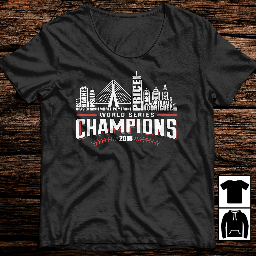 World series champions 2018 Boston Red Sox shirt