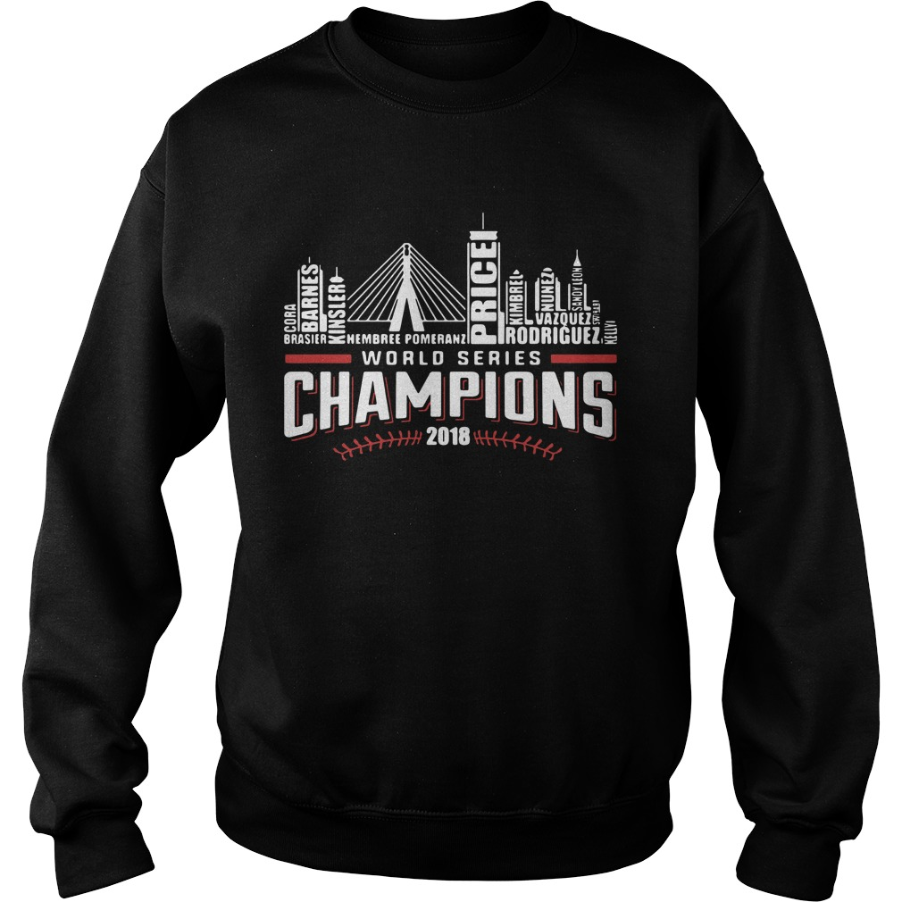 World series champions 2018 Boston Red Sox Sweater