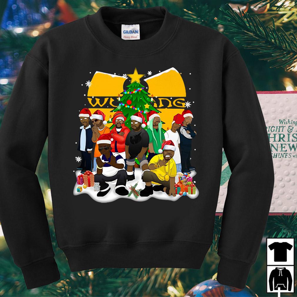 Wu Tang clan Christmas sweater