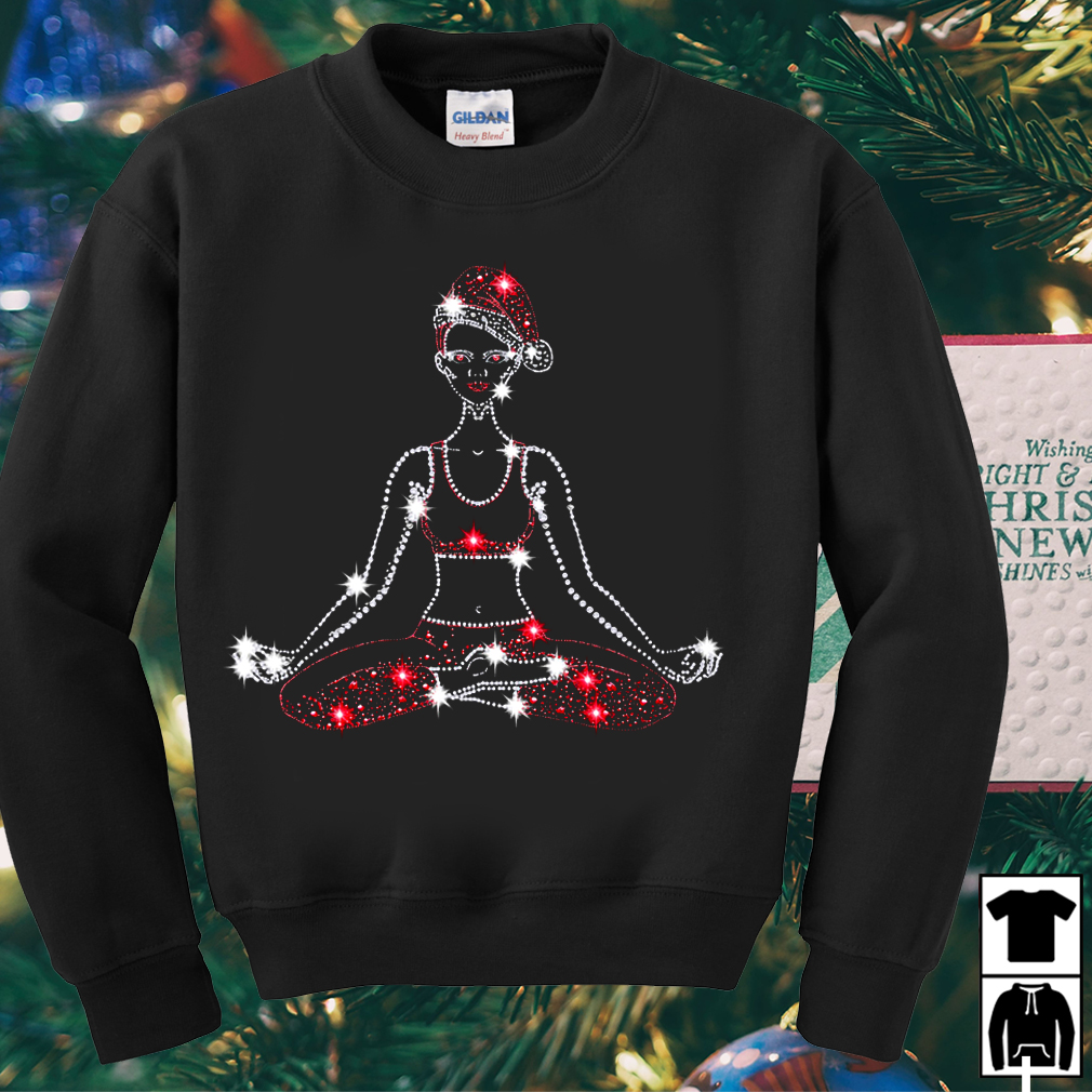 Yoga Bling Christmas Ugly sweater
