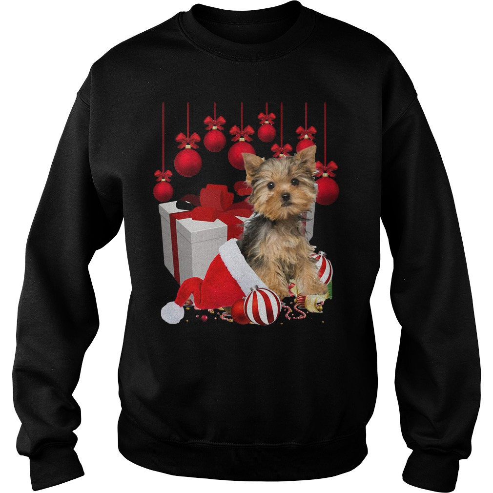 Yorkshire Terrier Gift Christmas Ugly sweater