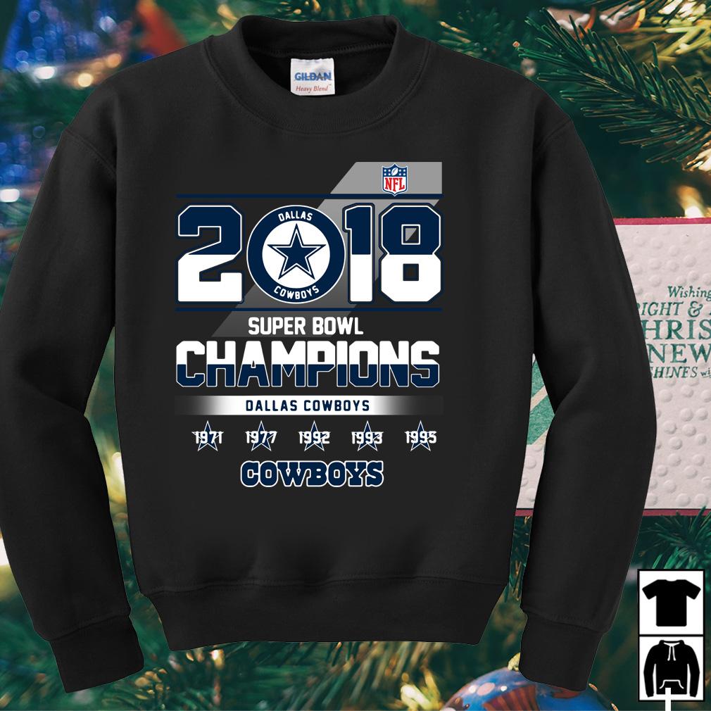 2018 Super Bowl Champions Dallas Cowboys shirt