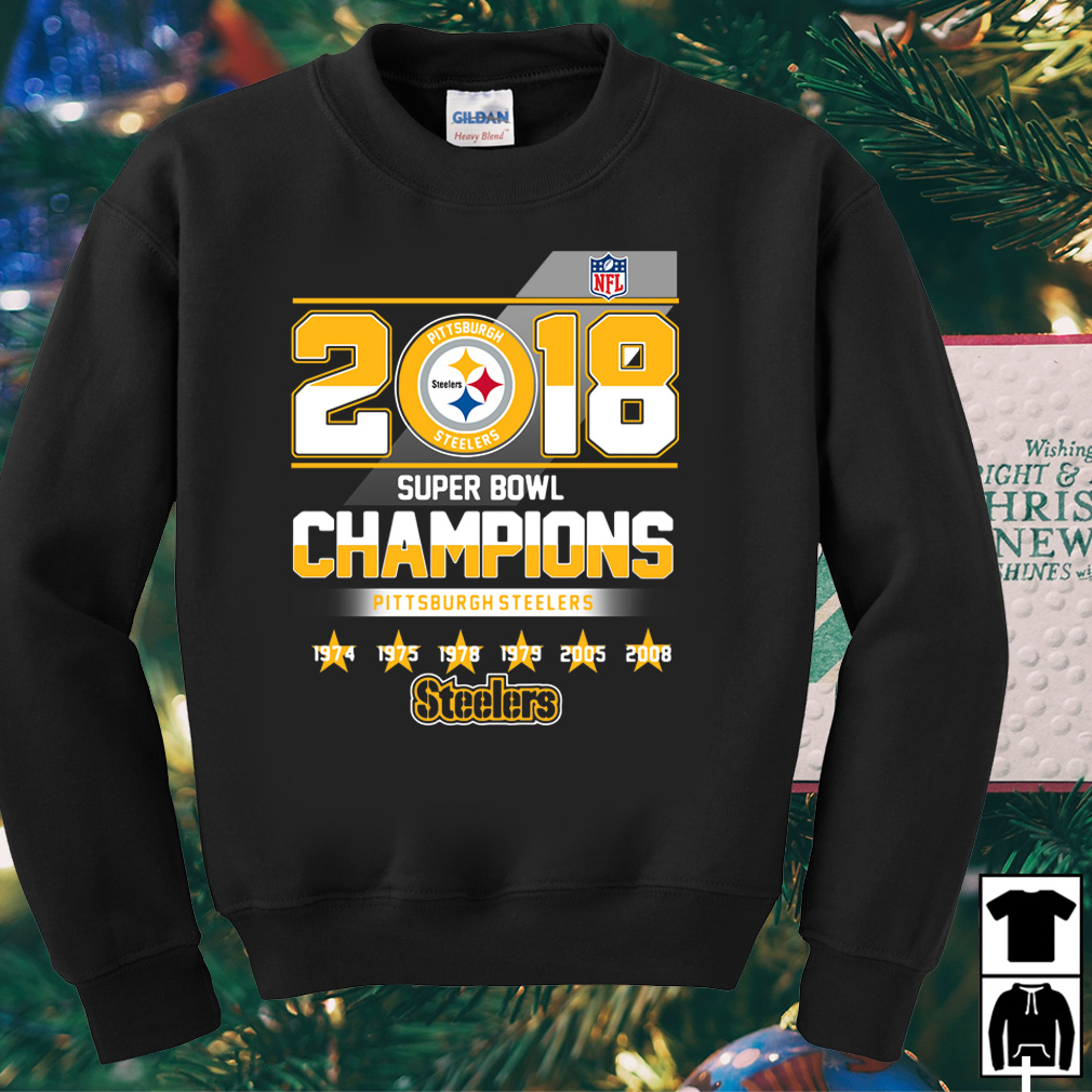 2018 Super Bowl Champions Pittsburgh Steelers shirt
