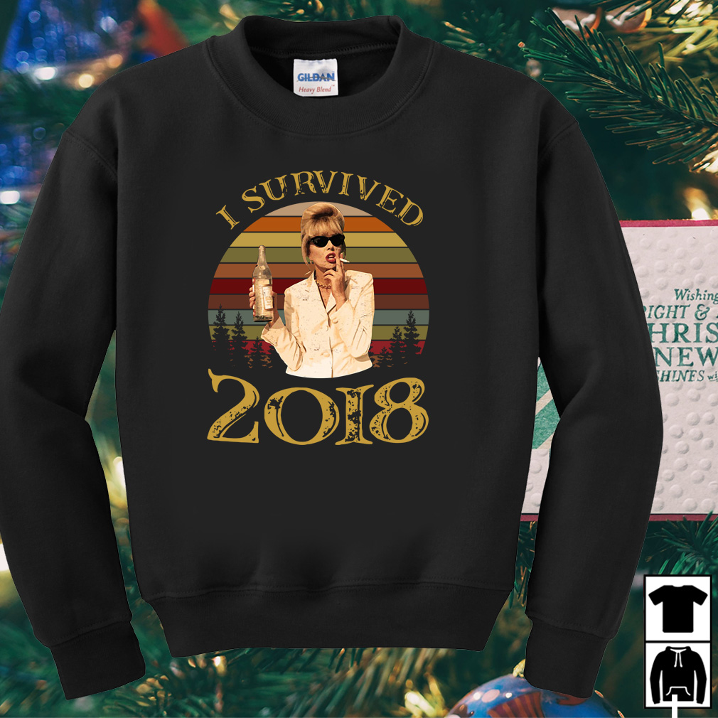 Absolutely Fabulous I survived 2018 vintage shirt
