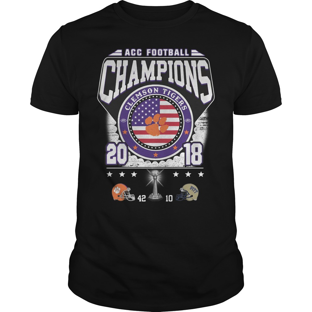 ACC football champions Clemson Tigers 2018 Guys Shirt