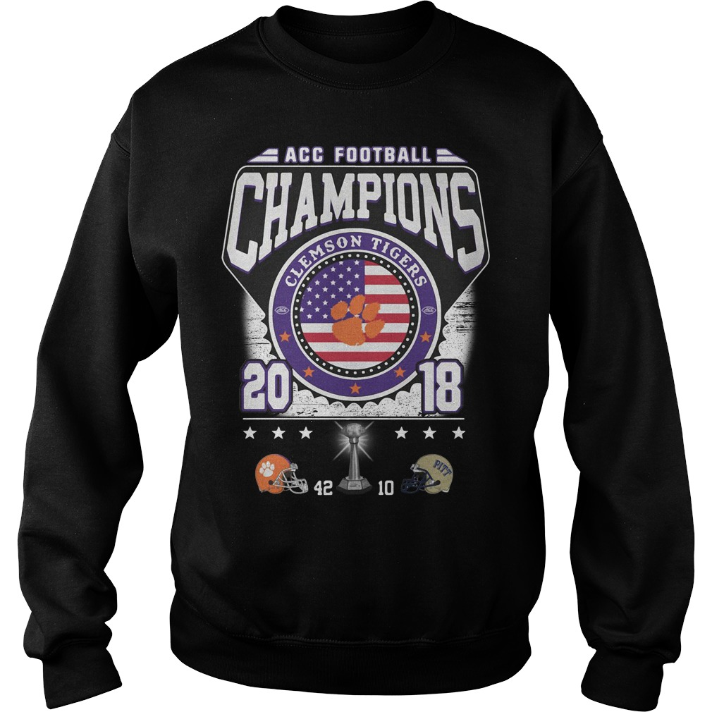 ACC football champions Clemson Tigers 2018 Sweater