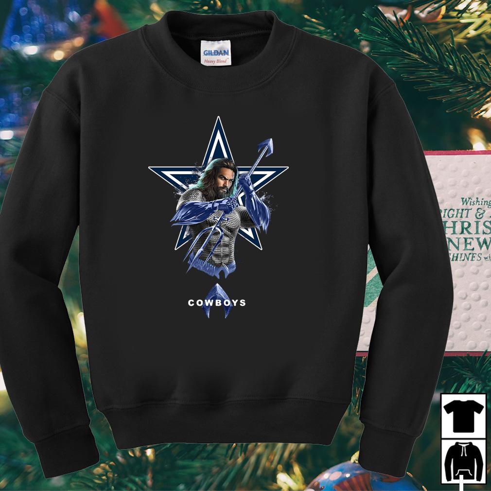 Aquaman Dallas Cowboys shirt