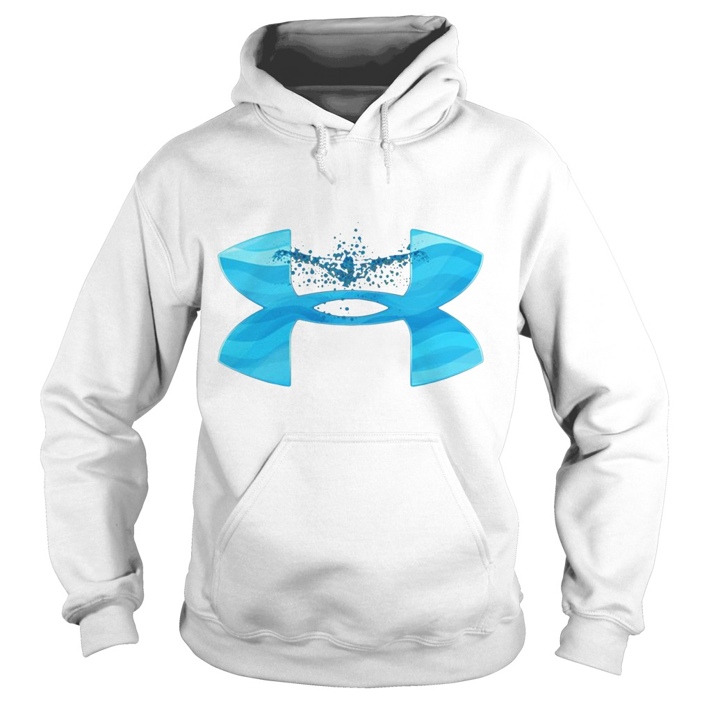 Under Armour love swimming Hoodie