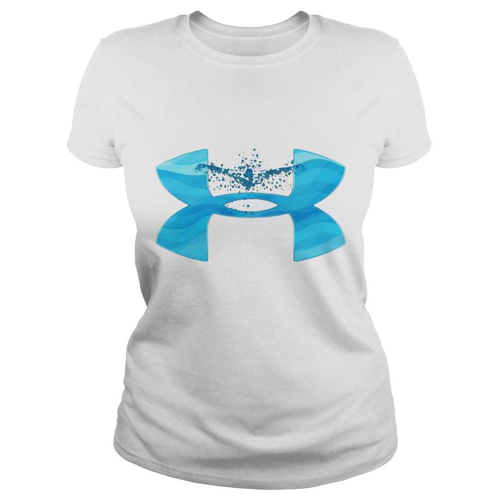 Under Armour love swimming Ladies tee