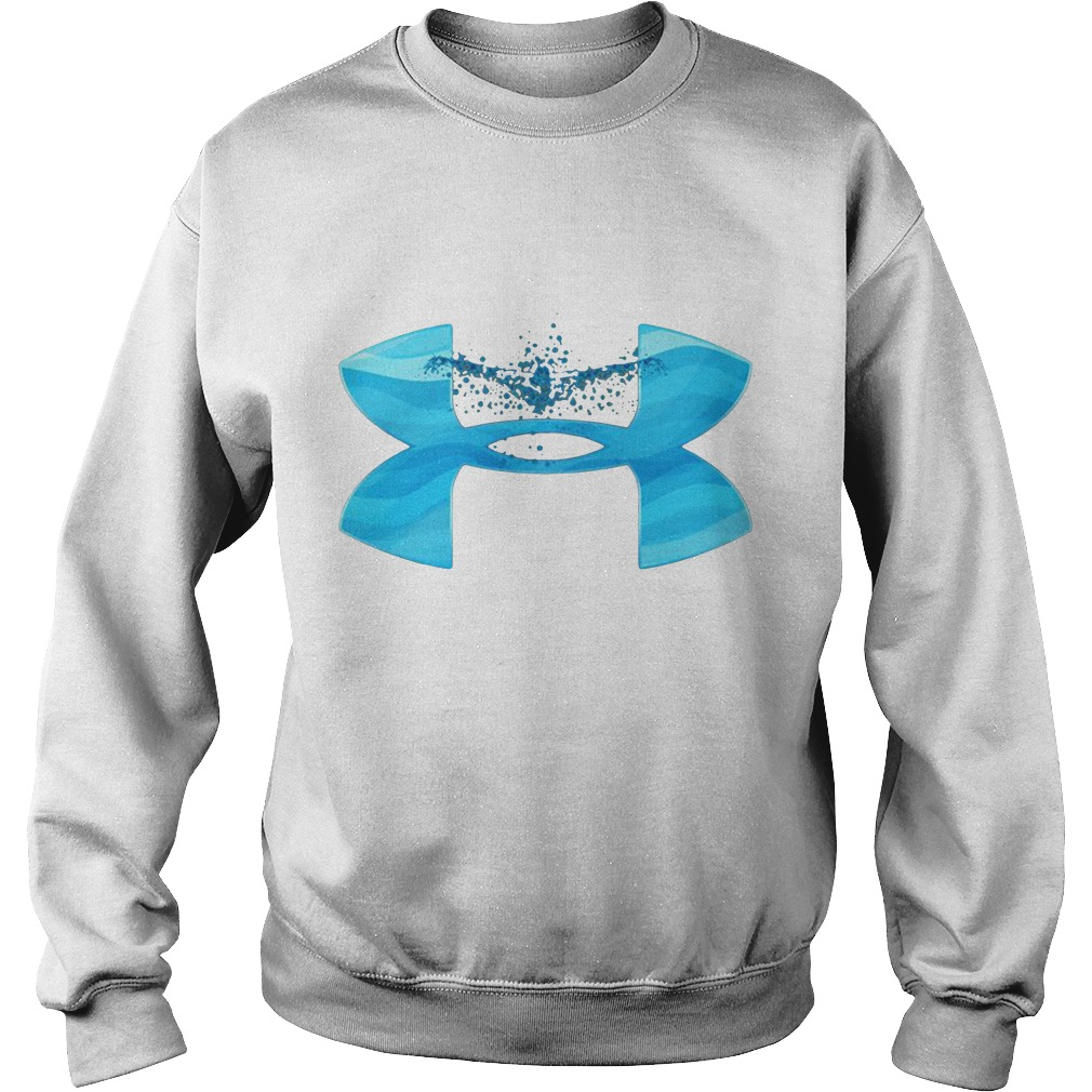 Under Armour love swimming Sweater