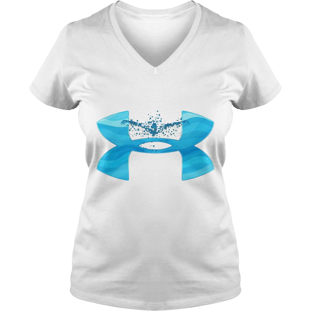 Under Armour love swimming V-neck T-shirt
