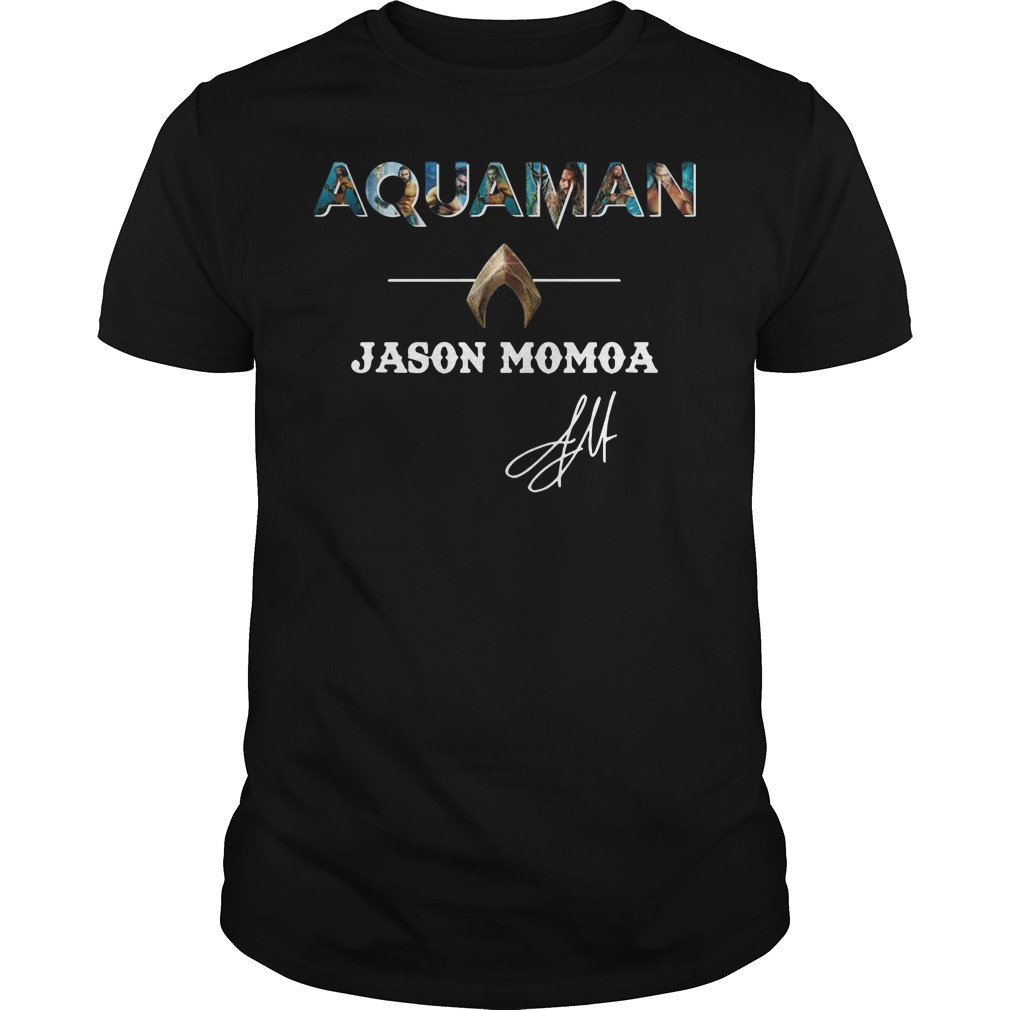 The Atlantis Aquaman Jason Momoa Guys Shirt