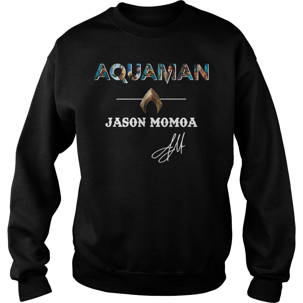 The Atlantis Aquaman Jason Momoa Sweater