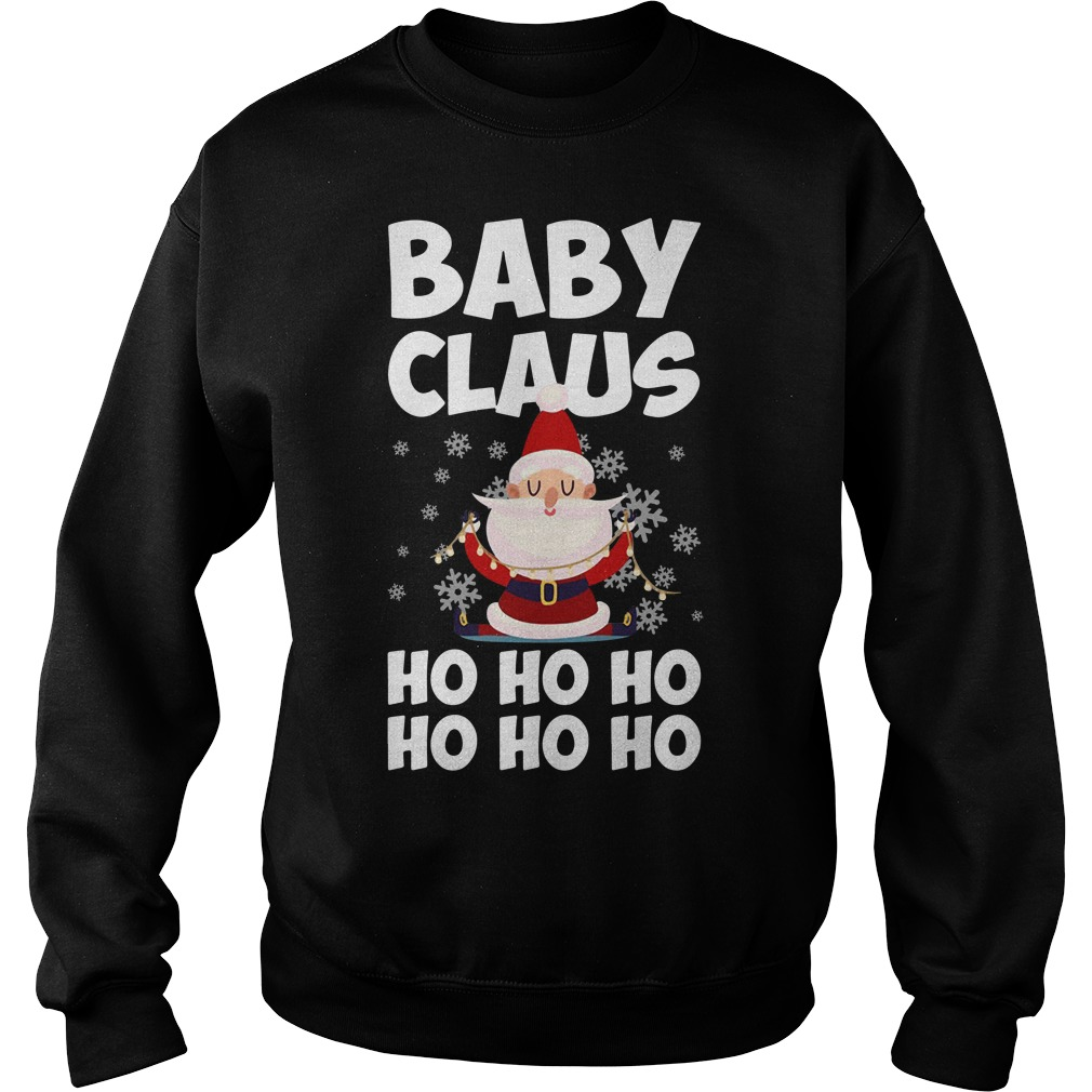Baby Claus Ho Ho Ho Ho Ho Ho Christmas Ugly Sweater