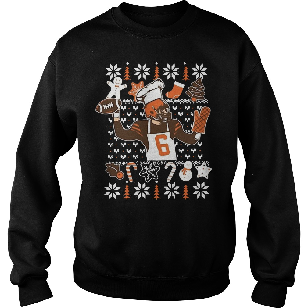 Baker Mayfield Ugly Christmas Sweater Shirt Hoodie And Longsleeve Tee